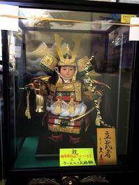 五月人形(ケース入り)