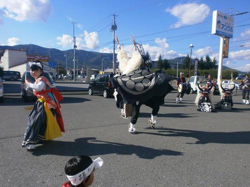9210077山谷獅子踊り
