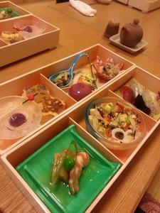 木むらさんひな寿司雛御膳ランチ