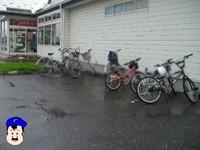 デュエル 7/4 雨でも自転車いっぱい