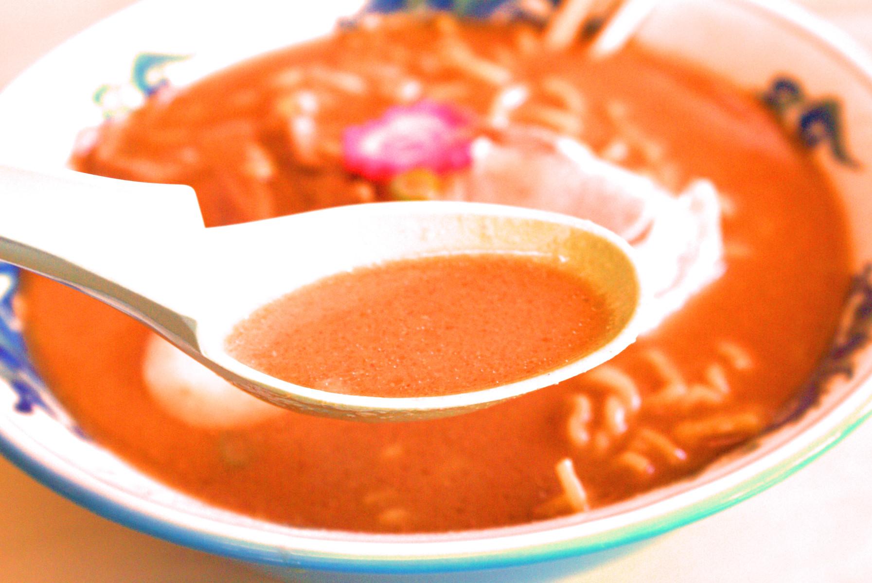 海老味噌スープ