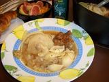 キャベツのスペアリブ スープの完成