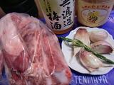 スペアリブ炒め煮の材料