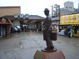 男はつらいよ、車寅次郎像と柴又駅 2008.6.29