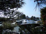 名園の雪の風情 岡山後楽園 2008.2.24