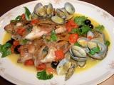 アクアパッツァ(イタリアン煮魚)の完成