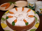 キャロットケーキの完成