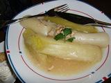 ポワロー(西洋葱)のスープ煮の完成