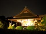 名月観賞会の箏曲演奏。 岡山後楽園 延養亭 2008.9.14