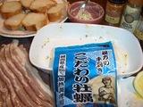オイスター(カキ)ベーコン焼きの材料