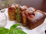 米粉トマト・パウンドケーキの完成