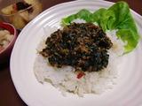 キーマカレー(挽肉カレー)の完成