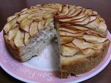 アップル(りんご)ケーキの完成