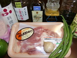鶏もも肉のレモンソース焼きの材料