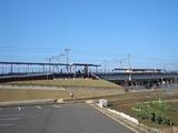 学び舎と畑の新駅 JR西川原・就実駅 2008.3.15