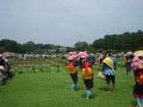 田植え踊り(哲西町はやし田植え保存会)  2008.7.6