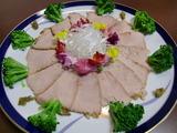 茹で豚の味噌漬けの完成