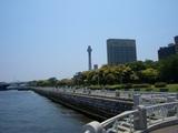山下公園と横浜マリンタワー