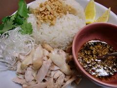 海南鶏飯(ハイナンチーファン)の完成