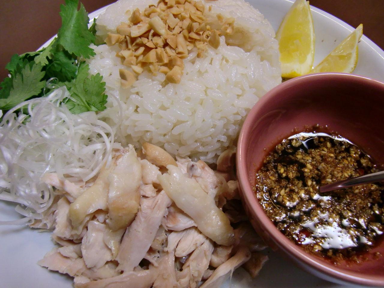 シンガポール チキン ライス レシピ