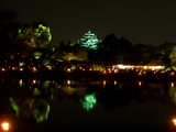 「宵待庭園」と岡山城