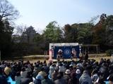 備中神楽公演 in 岡山後楽園 2008.3.2