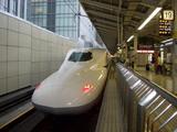 東京駅19番ホーム のぞみ(N700系)43号 2008.6.29