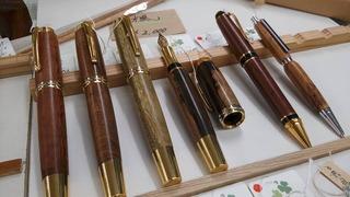 世界の銘木を使った世界で一つだけのハンドメイドペン:真空