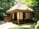 後楽園の茶室 「茂松庵」