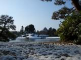 岡山城の雪化粧 2008.2.24