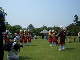 海田の茶摘み娘さんと岡山城と野点など 2008.5.18
