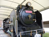下石井公園(西川アイプラザ)のSL機関車 2008.9.23