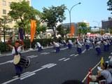 うらじゃ踊り連、宇宙〜SORA〜、早替り前 2008.8.3