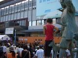 うらじゃ(桃太郎まつり)JR岡山駅前演舞場 2008.8.3