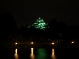 幻想に浮かぶ 岡山城