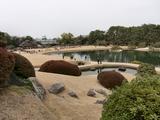 『芝焼き』直前の風景 @ 岡山後楽園 2009.2.9