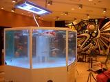 JR岡山駅 不思議な水槽