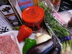 パクチー鴨だんごスープの材料