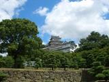 姫路城の連立式(後期望楼型)天守閣 2008.8.13