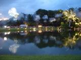 幻想庭園のオープニング点灯式と沢の池 2008.7.29