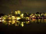 沢の池の釣殿、藩主の朝食処の廉池軒 2008.7.29