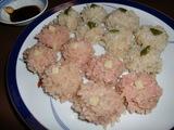 餅米焼売(もちごめシュウマイ)の完成