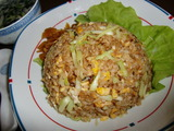 黄韮(きにら)玄米チャーハンの完成