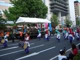 うらじゃ踊り連、宇宙〜SORA〜、早替り後 2008.8.3