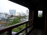 重要文化財 月見櫓より望む 岡山市街 2008.11.3