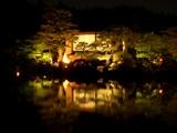 「宵待庭園」沢の池の茶室