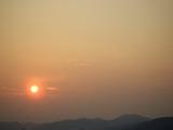 晩夏の朝日 20070817