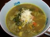 牛テール・カレースープ