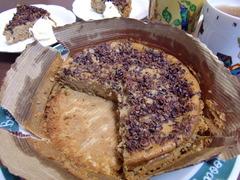 珈琲チーズケーキの完成