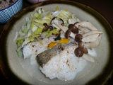 鱈のホイル焼き(蒸し焼き)の完成